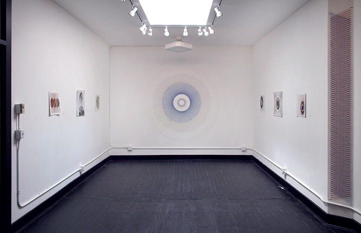 Installation view at LxWxH Gallery